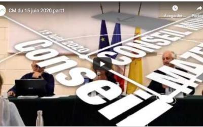 Conseil Municipale du 15 juin 2020